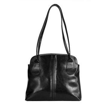 DAN-A T218 czarna torebka skórzana damska