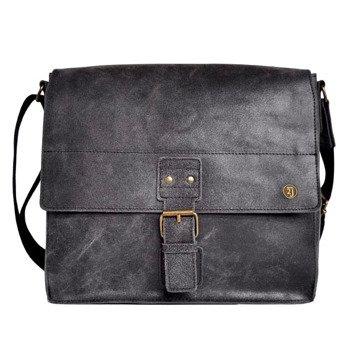 Skórzana torba na ramię czarna 2JUS by DAAG Land 2
