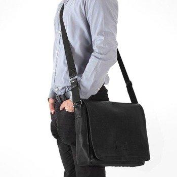 851e7f4eece2a Stylowa torba męska na ramię casual SOLIER S11 czarna