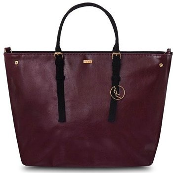 Torba damska shopper bag FELICE bordowa