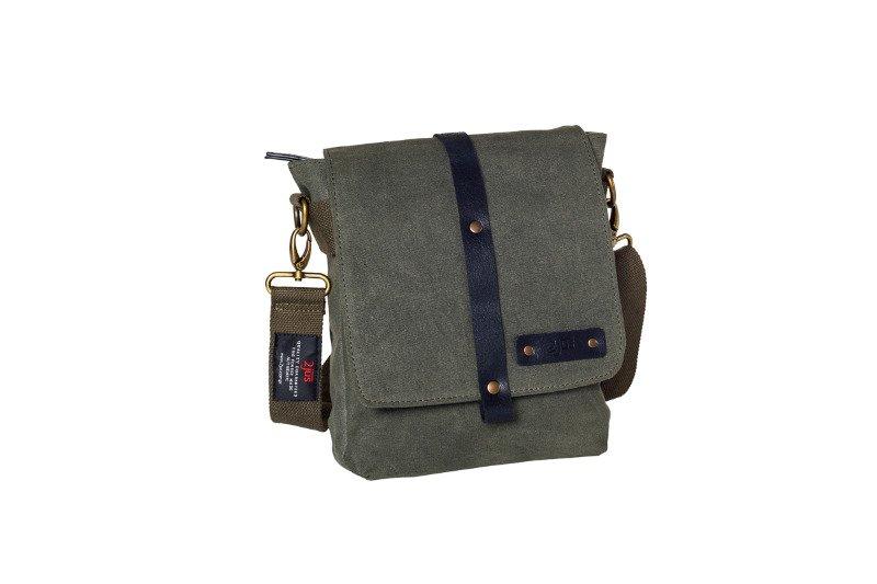 5941b69d58203 Bawełniana torba na ramię unisex 2JUS by DAAG Zone 2 oliwka -  17055 ...