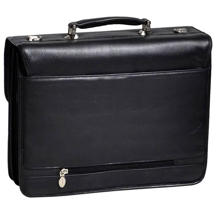 7e8e626124c69 ... Skórzana teczka biznesowa Mcklein Ashburn 15145 na laptopa 15,4