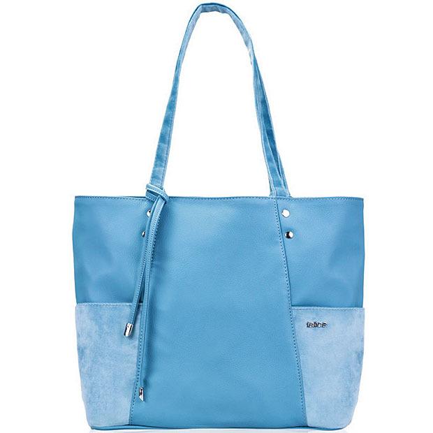 194f9158a01e8 Torebka damska shopper Felice Bonita FB03 błękitna - [15809 ...