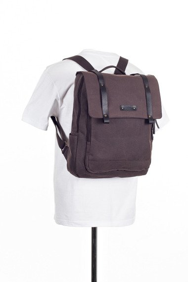 Bawełniany plecak 2JUS by DAAG Zone 3 brązowy
