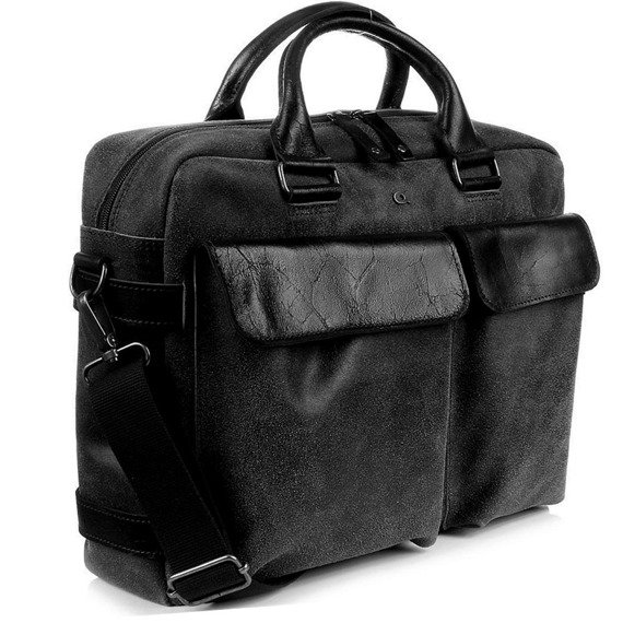 DAAG Jazzy Risk Up 143 torba skórzana unisex teczka na laptopa do ręki i przez ramię