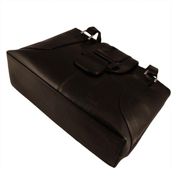 DAN-A T50 czekoladowa torebka skórzana damska