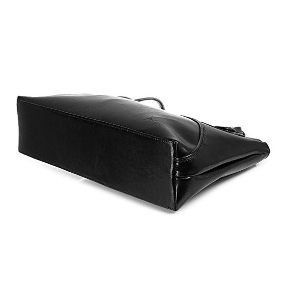 DAN-A T78 czarna torebka skórzana damska