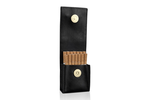 Damskie etui na papierosy Felice FA14 standard granatowe