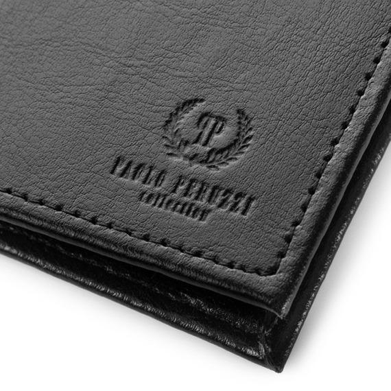 Etui na karty skórzane Paolo Peruzzi H-01-PP brązowe