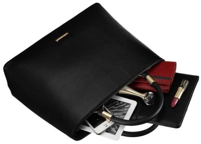 Kuferek czarny A4 Monnari BAG2710-020