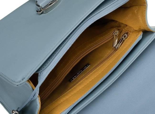 Kuferek damski błękitny David Jones CM5706 L.BLUE