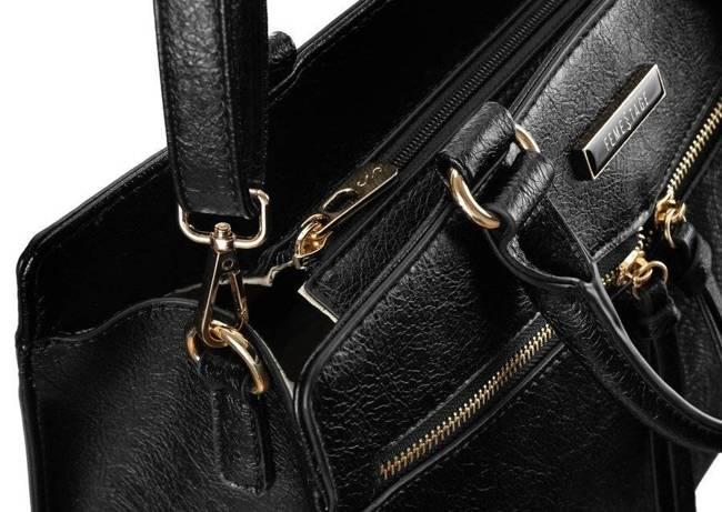 Kuferek damski czarny FemeStage BAG2950-M20