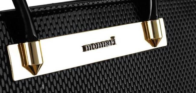 Kuferek damski czarny Monnari  BAG2110-020