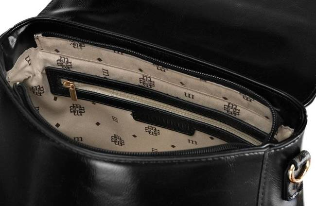 Kuferek damski czarny Monnari BAG2250-020