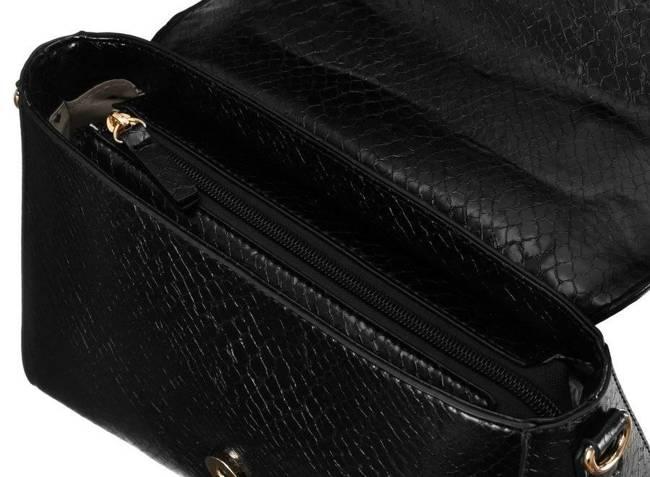 Kuferek damski czarny Monnari BAG2250-M20