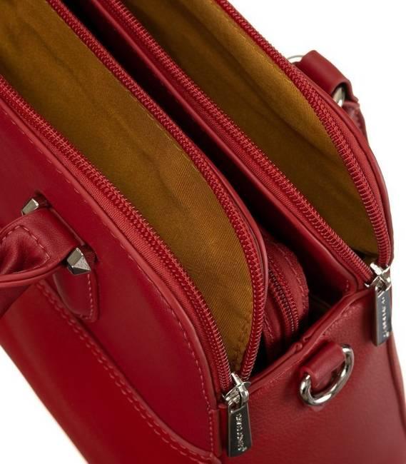 Kuferek damski czerwony David Jones 6221-3 RED