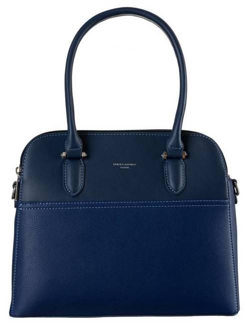 Kuferek damski niebieski David Jones 6221-3 BLUE
