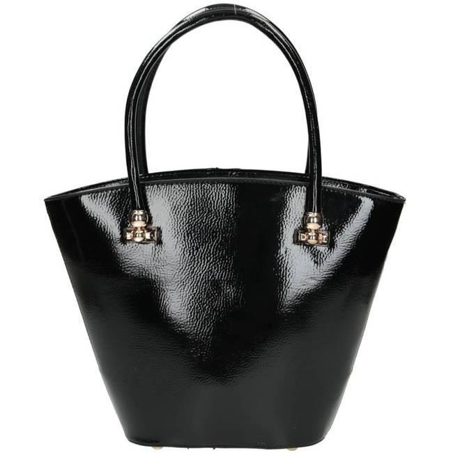 Lakierowany kuferek czarny Nobo NBAG-J2790-C020