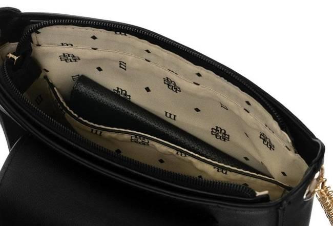 Listonoszka ażurowa czarna Monnari BAG3680-020