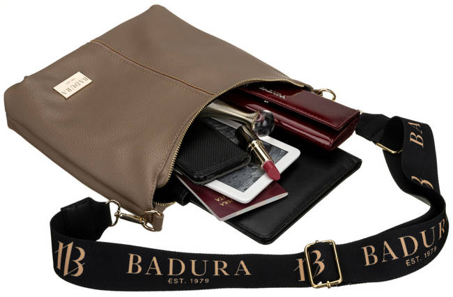 Listonoszka beżowa Badura  T_D199BE_CD