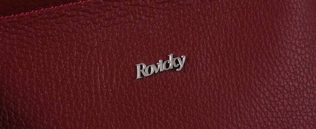 Listonoszka damska Rovicky  TWR-68 BORDOWY LOGO