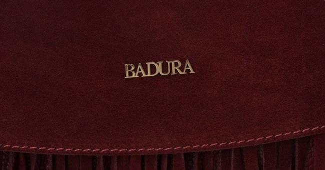 Listonoszka damska boho bordowa Badura T_D184CR_CD