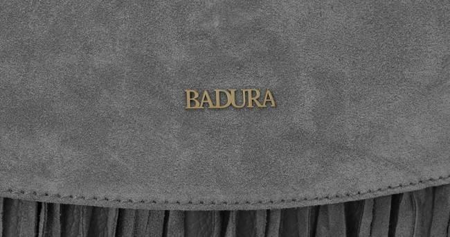 Listonoszka damska boho szara Badura T_D184SZ_CD
