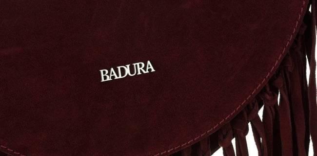 Listonoszka damska bordowa Badura T_D185CR_CD