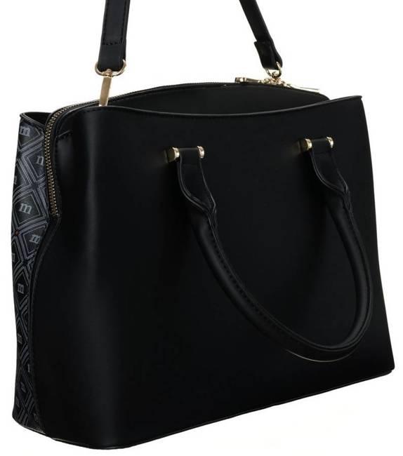Listonoszka damska czarna Monnari BAG1740-M20