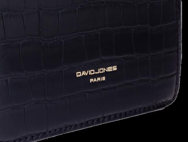 Listonoszka damska eko krokodyl David Jones brązowa CM5668