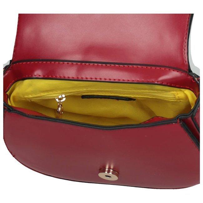 Listonoszka damska torebka podkowa Nobo bordo 4620