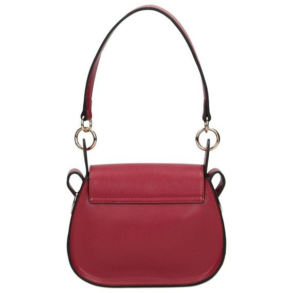 Listonoszka damska torebka podkówka NOBO 0640 czerwona