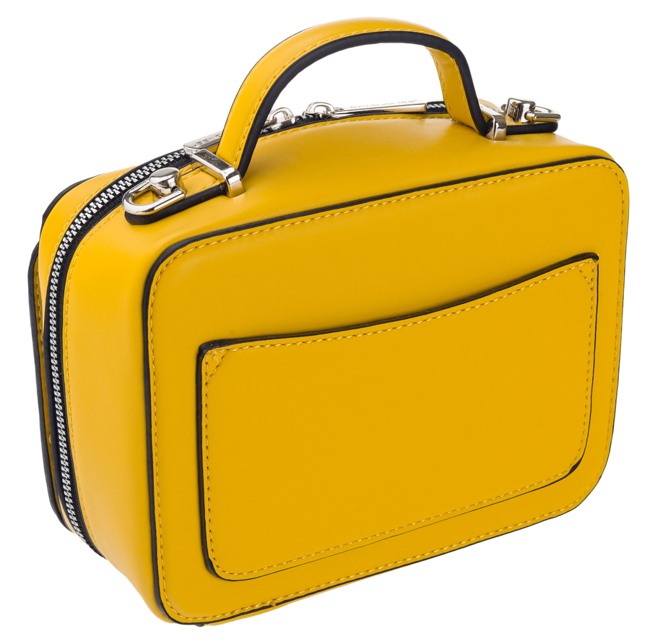 Listonoszka damska żółta David Jones CM5662 YELLOW