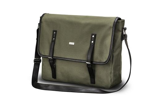Listonoszka męska torba na ramię S17 KNOCK zielona