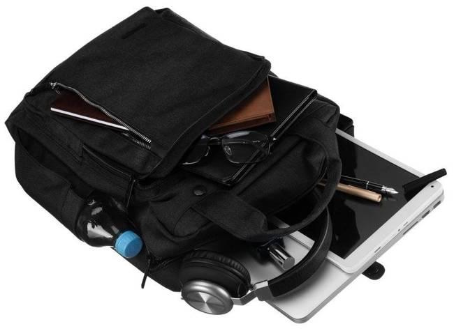 Miejski plecak unisex czarny David Jones PC036 BLACK