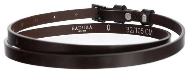 Pasek damski brązowy BADURA PBD-1-A-105-8440 BRO