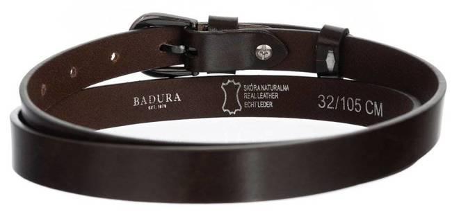 Pasek damski brązowy Badura PBD-2-A-105-8495 BRO