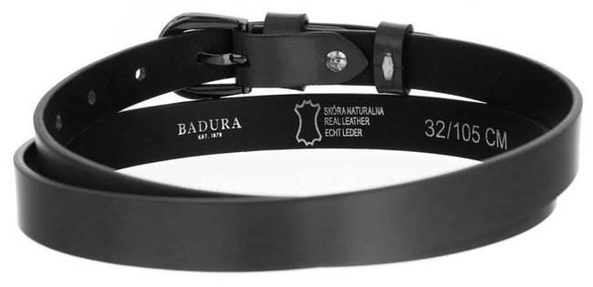 Pasek damski szary Badura  PBD-2-A-105-8518 GRA