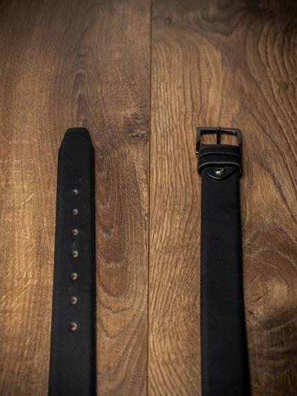 Pasek męski Rovicky BOM-01-D1 105cm czarny