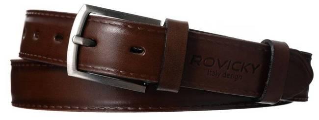 Pasek męski Rovicky PLW-R-11 BRĄZOWY