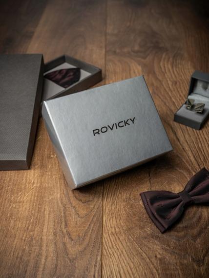 Pasek męski Rovicky PWN-01-D1 105cm czarny