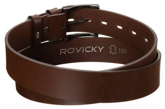 Pasek męski brązowy Rovicky R-PM-CS