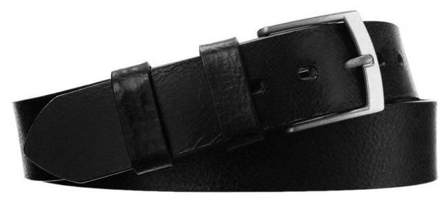 Pasek męski czarny Badura PBJ-06-C 105 cm