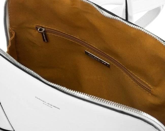 Plecak damski biały David Jones 6261-2 WHITE