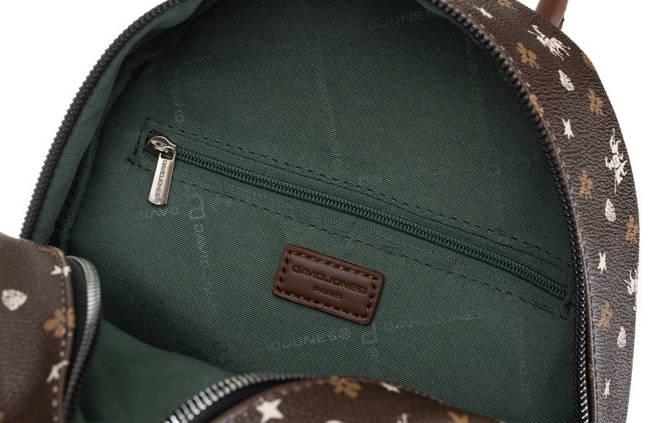 Plecak damski c. brązowy David Jones CM6125 D.BROWN