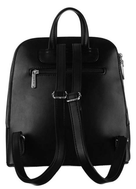 Plecak damski czarny David Jones 6261-2 BLACK