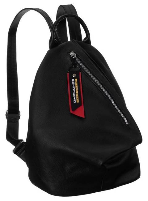 Plecak damski czarny David Jones  CM6008 BLACK