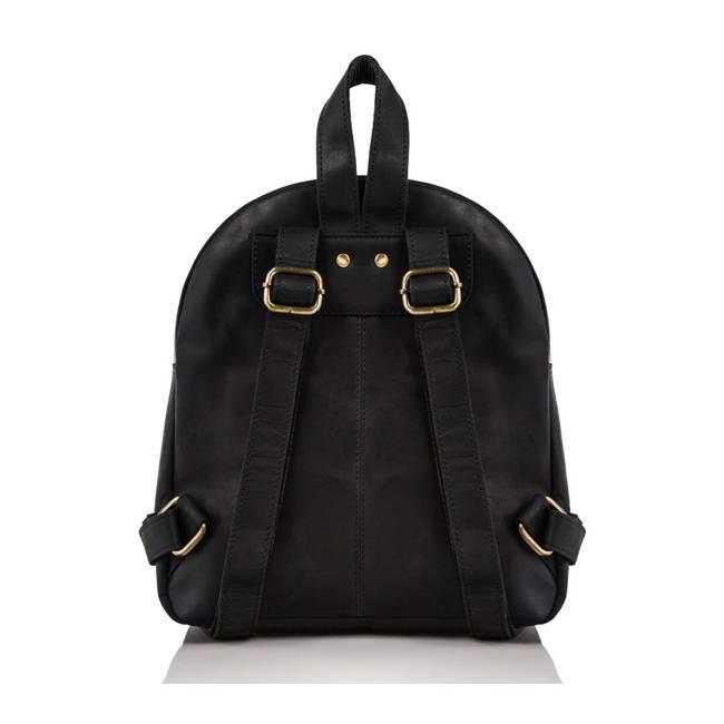 Plecak damski czarny Paolo Peruzzi T-18-BL