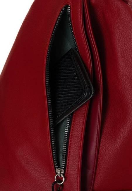 Plecak damski czerwony David Jones CM6008 RED