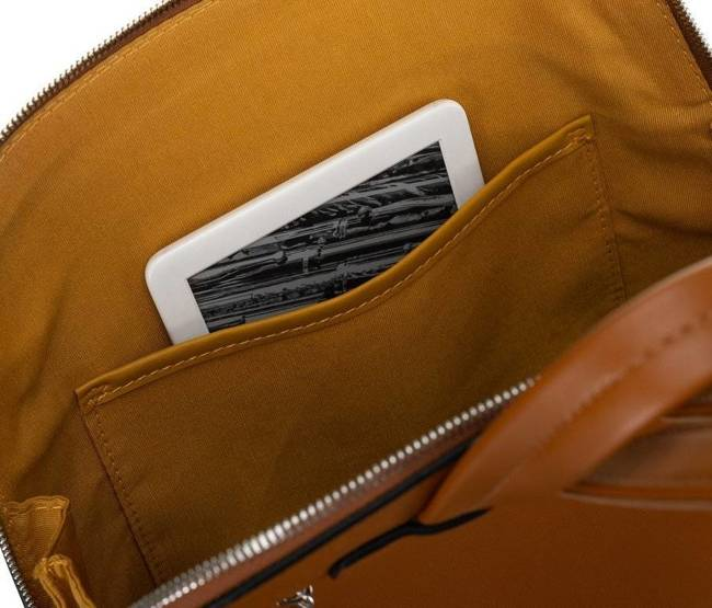 Plecak damski koniakowy David Jones 6261-2 COGNAC